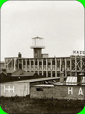 Industrial heritage, Hazemeyer, Hengelo, the Netherlands