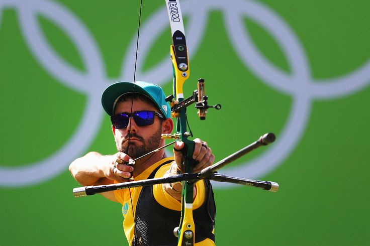 Day 1: Archery Men's Team - Taylor Worth of Team Australia