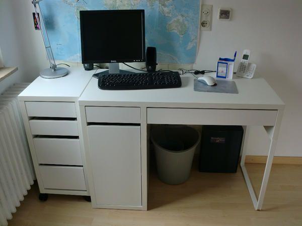 schreibtisch ikea micke gebraucht. Black Bedroom Furniture Sets. Home Design Ideas