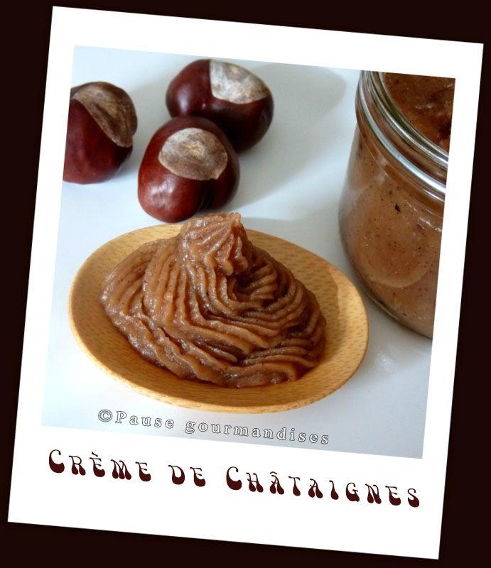 Crème de châtaignes vanillé (thermomix)