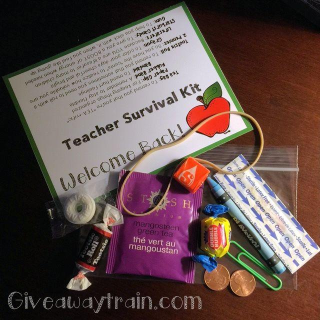 25 Best Ideas About Teacher Survival Kits On Pinterest: 25+ Unique Teacher Survival Kits Ideas On Pinterest