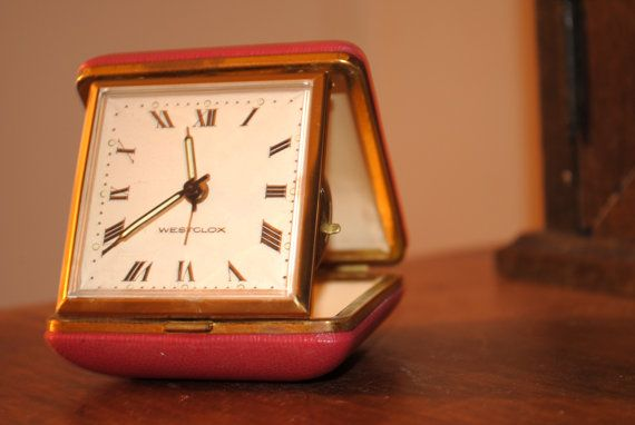 Hey, I found this really awesome Etsy listing at https://www.etsy.com/uk/listing/168746029/1970s-pink-travel-alarm-clock-by