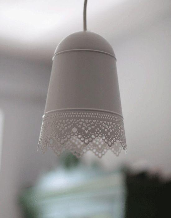 IKEA planter becomes pendant shade