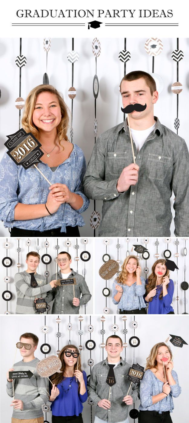 Graduation Party Ideas: Photo Booth Kits | BigDotOfHappiness.com
