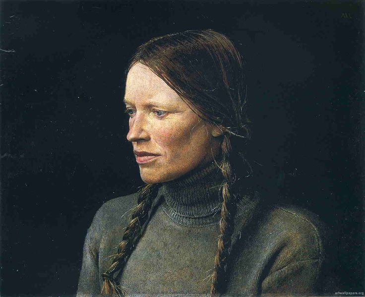 The Helga Paintings by Andrew Wyeth - Wyeth made more than 240 paintings of Helga between 1971 -1985. Some of the best paintings ever by an American artist.