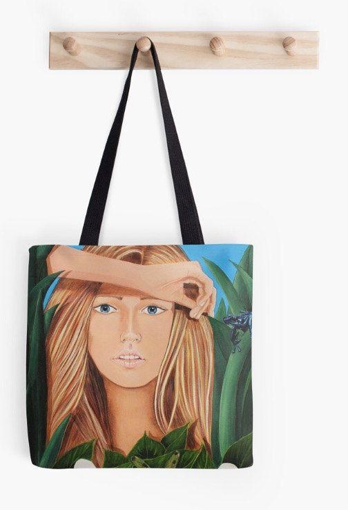Cala  Original artwork Tote Bag by ArtatKarens on Etsy
