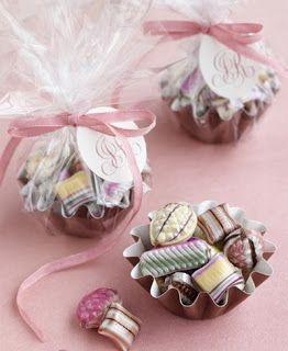 Portal de Manualidades: Souvenirs de dulces decorados