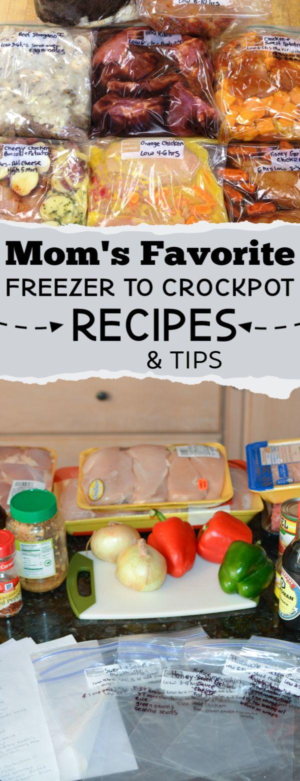 Tips for Prepping Crock Pot Freezer Meals + Recipe List