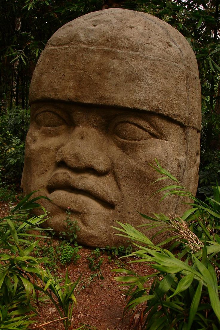 olmec heads | Olmec-Head