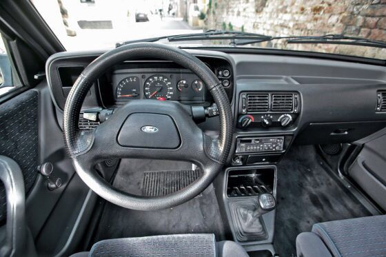 1986 Ford Escort XR3i Cabrio