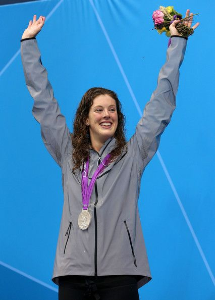 Allison Schmitt - the 17 year old Olympic medalist. And apparently softened Phelps?