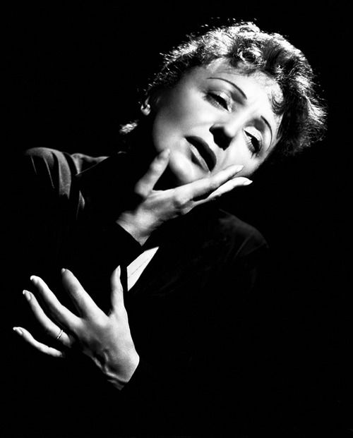 Edith Piaf, photographed by Maurice Seymour, 1950s