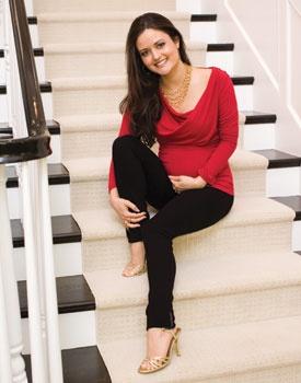 Pregnancy Magazine | Danica McKellar