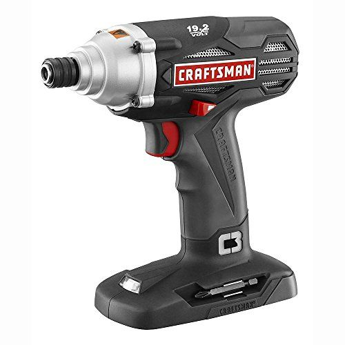 Craftsman C3 19.2-Volt 1/4 Impact Driver (TOOL Only  Battery and charger not included) Review https://cordlesscircularsawreview.info/craftsman-c3-19-2-volt-14-impact-driver-tool-only-battery-and-charger-not-included-review/
