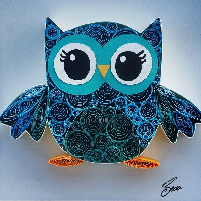 Turkish artist Sena Runa is a former HR specialist who now does paper quilling full time.