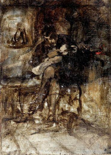 .:. Γύζης Νικόλαος – Gyzis Nikolaos [1842-1901] The lovely grandson
