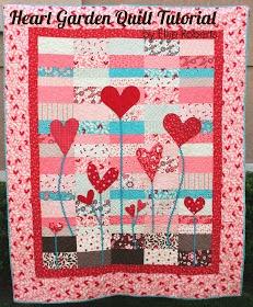 Moda Bake Shop: Heart Garden Quilt