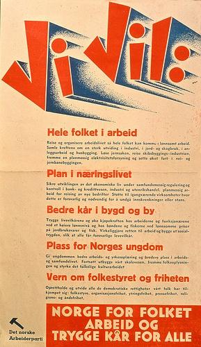 Arbeiderpartiet Plakater