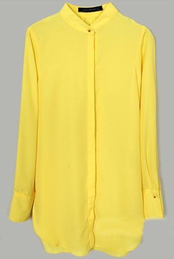 Yellow shirt perfection by #SheInside
