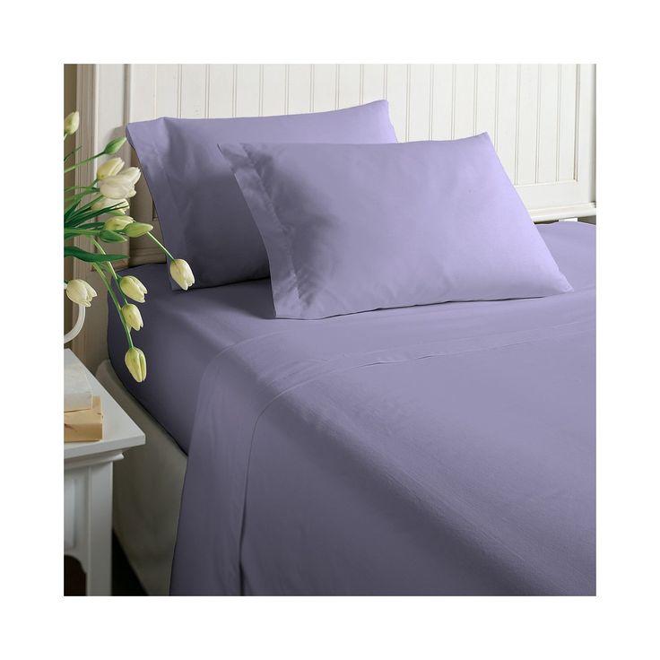 morgan home fashions jersey knit sheet set heirloom lilac