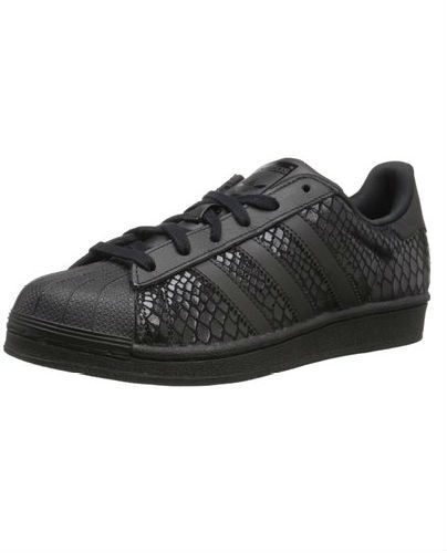 ADIDAS WOMENS SUPERSTAR FOUNDATION CASUAL SNEAKER - Was $199.97 - Now $58.29