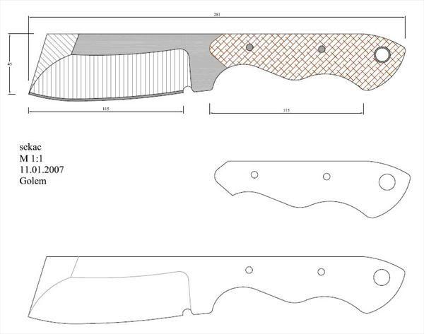 64 besten messer vorlagen bilder auf pinterest messer messerherstellung und vorlagen. Black Bedroom Furniture Sets. Home Design Ideas