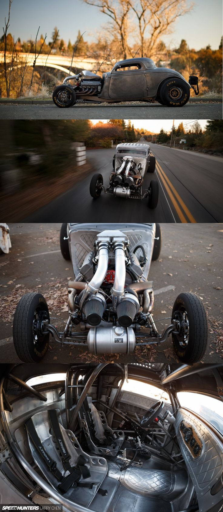 '34 Ford with 1200hp, twin-turbo big block by Eddie's Chop Shop
