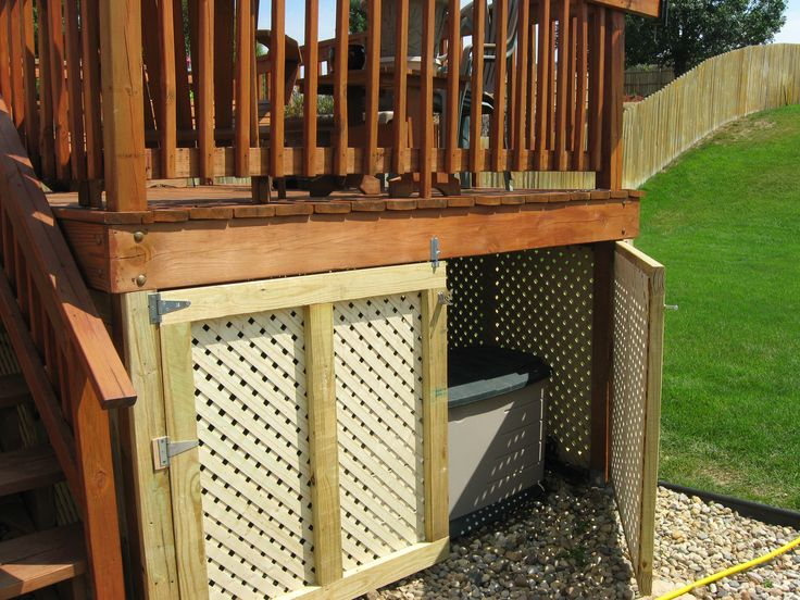 How To Build A Shed Under Deck PDF diy shed heating ...