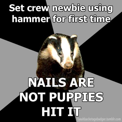 Who uses hammers! Screw guns for everyone!!! ; )
