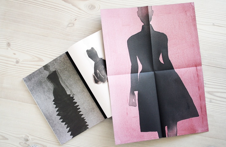 Rodeo Magazine has these stunning fashion illustrations inside. Lovely decor for your boudoir! Via Riazzoli blog.