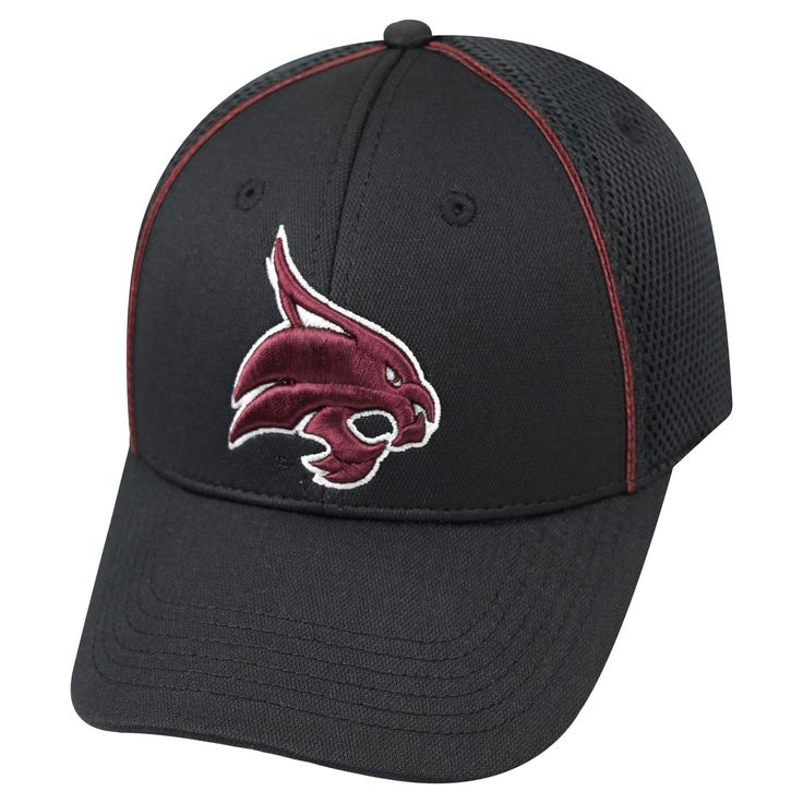 NCAA Baseball Hats Texas State Bobcats Black, Men's