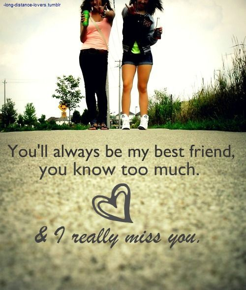 You'll Always Be My Best Friend