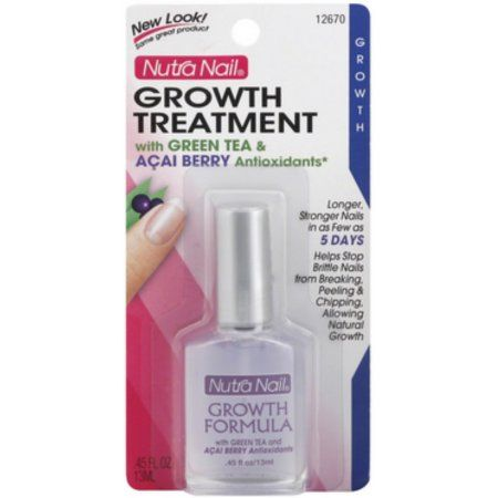 Nutra Nail Growth Treatment with Green Tea & Acai Berry Antioxidants 0.45 oz