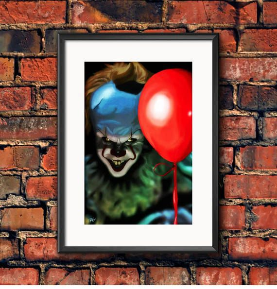 Check out this item in my Etsy shop https://www.etsy.com/ca/listing/537809654/bill-skarsgard-it-scary-clown-stephen