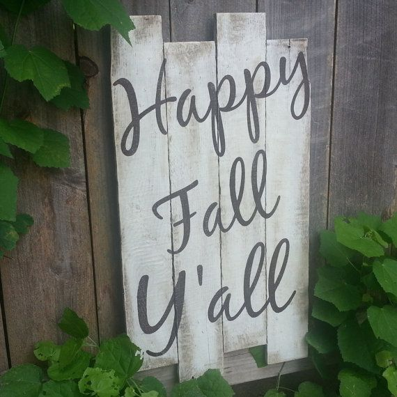 Hey, I found this really awesome Etsy listing at https://www.etsy.com/listing/198624595/happy-fall-yall-sign-autumn-decor-fall