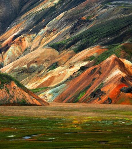 La région de Landmannalaugar en Islande