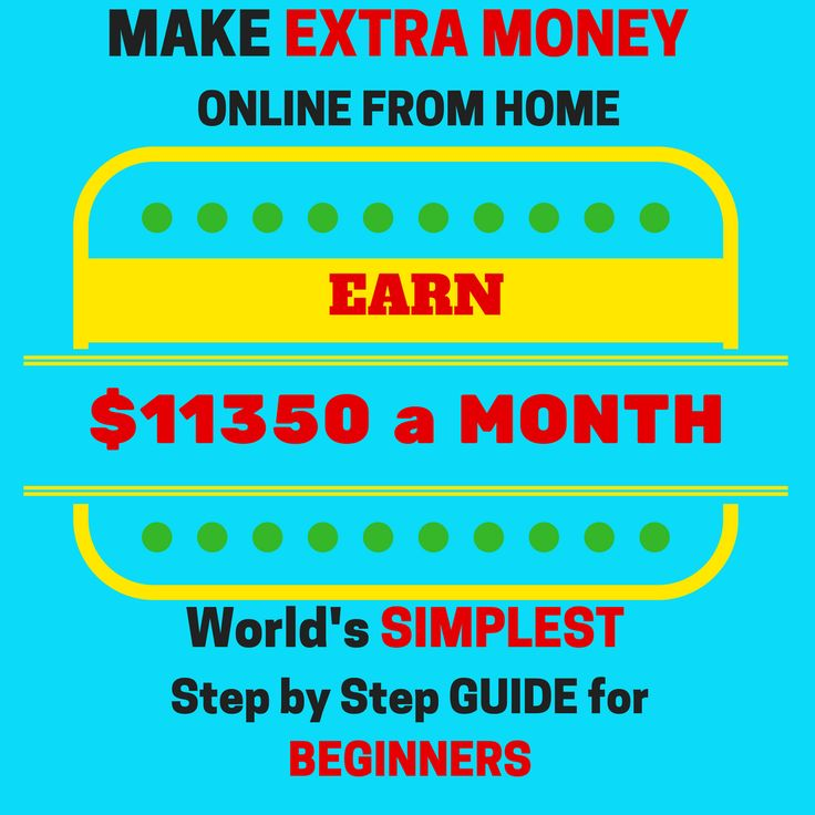 Ready to make money online today? JOIN FREE & MAKE EXTRA $11350 a MONTH.WORLD'S SIMPLEST Step By Step Guide For BEGINNERS.