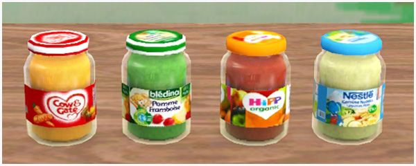 Add-on to Baby Food non-simlish version - Sims 3 Downloads CC Caboodle