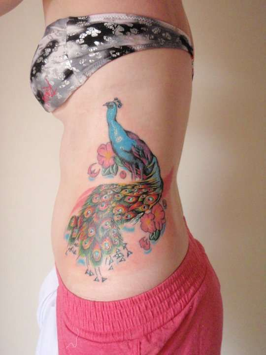 Peacock Tattoo #Tattoo