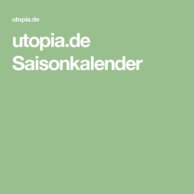 utopia.de Saisonkalender
