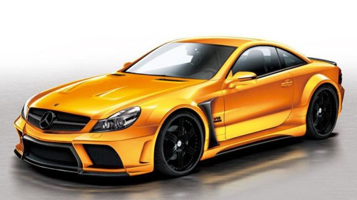 Veilside Bets On Black With Mercedes SL Body Kit