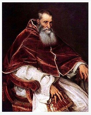 Pope Paul III - Titian