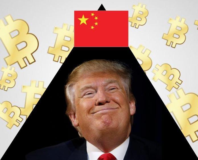 Çin, Donald Trump ve Bitcoin, bu üç özel isim son günlerde sürekli karşımıza çıkıyor. Bitcoin piyasasını rekor seviyelere yükseltip sonrada dibe çakıyorlar. #bitcoin #blockchain #bitcointürkiye #kripto #crypto #trumpcoin #bitcointrump