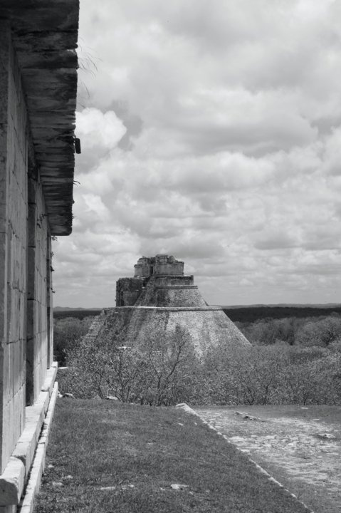 One of my favourite views at Uxmal, Mexico