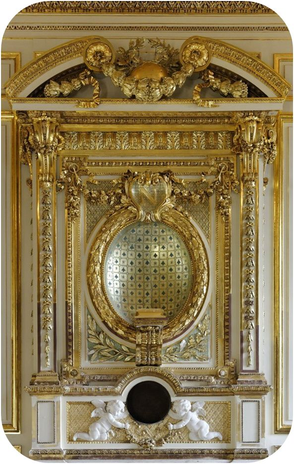 (3) the restauration of the magnificent Hôtel de la Marine, Place de la Concorde, Paris  marble fireplace, main salon (detail) finalized (20...