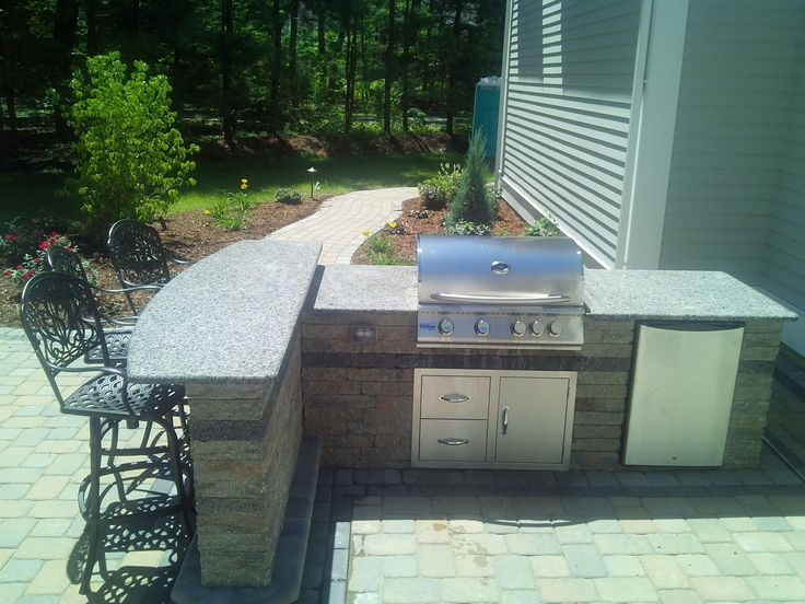 Amazing Create The Ultimate Outdoor Living Space Outdoor Kitchen With Bar By Bahler  Brothers In CT Good Looking
