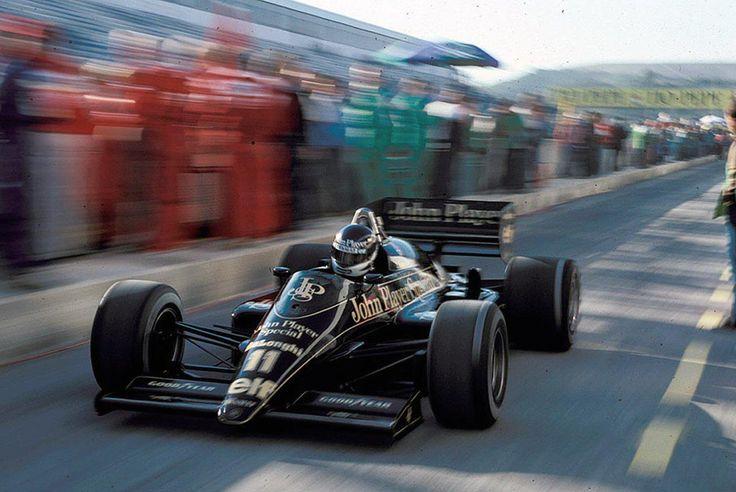 1986 Spanish Grand Prix Lotus 98T Johnny Dumfries