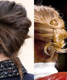 What's Fall's Most On-Trend Hairstyle? A Runway-Inspired French Twist, of Course