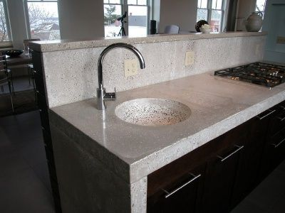 Best 25 Polished Concrete Countertops Ideas On Pinterest