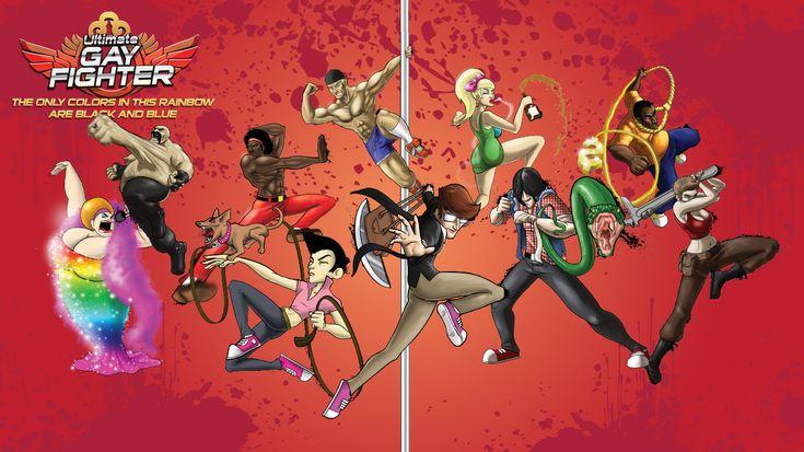 Primeiro jogo de luta gay do mundo já enfrenta dificuldades antes de ser lançado.